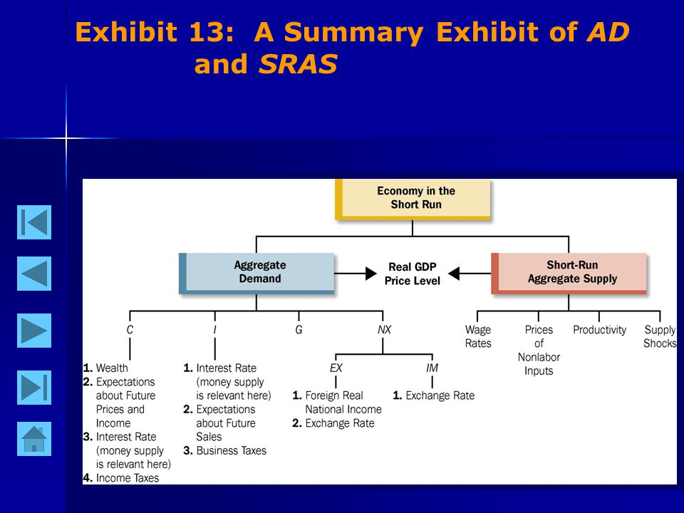 37 Exhibit 13: A Summary Exhibit of AD and SRAS