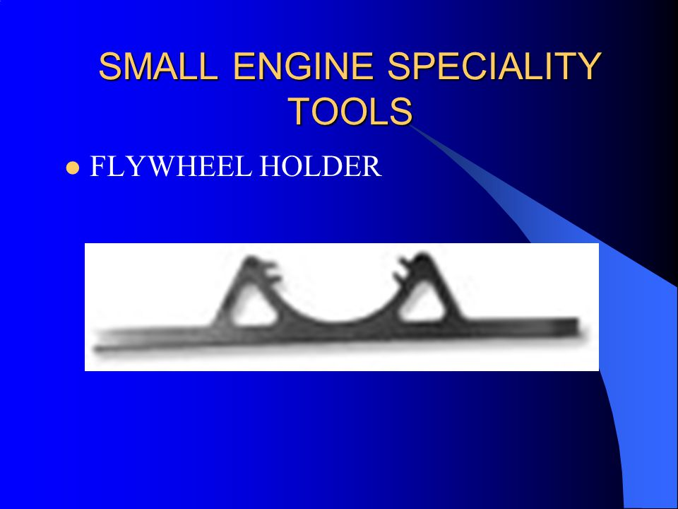 SMALL ENGINE SPECIALITY TOOLS FLYWHEEL HOLDER