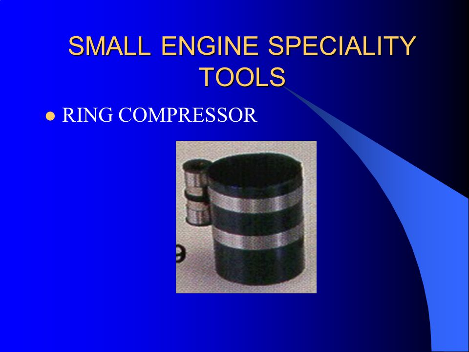 SMALL ENGINE SPECIALITY TOOLS RING COMPRESSOR