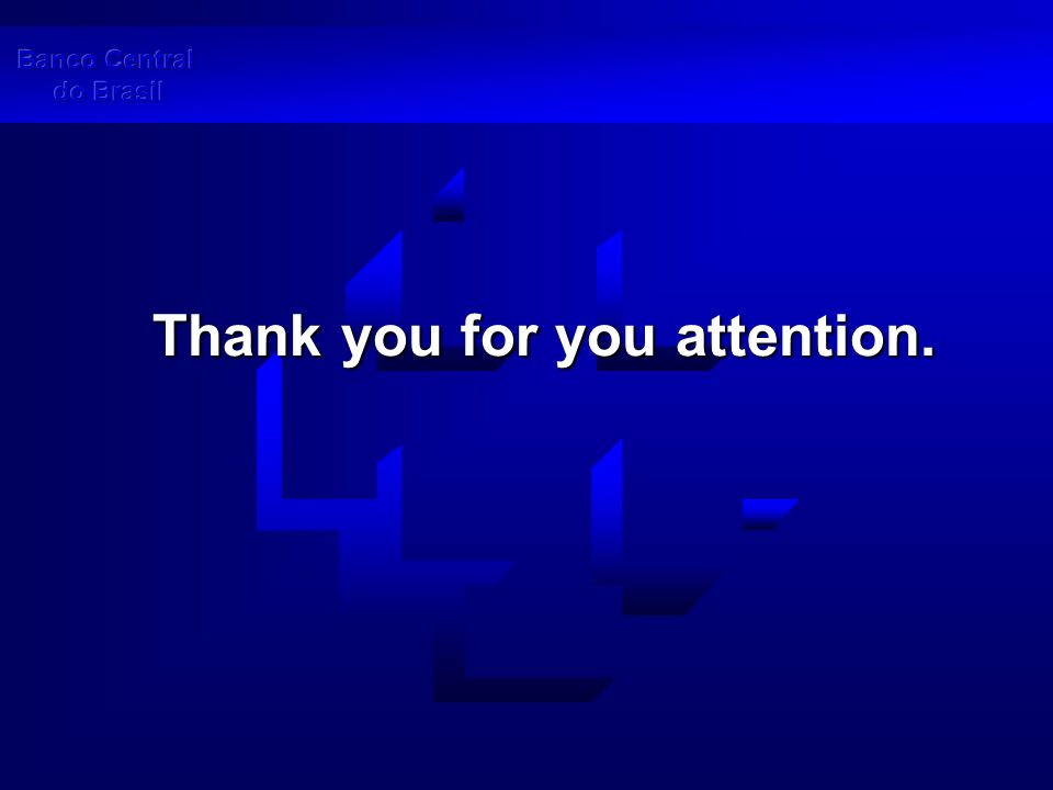 Thank you for you attention.