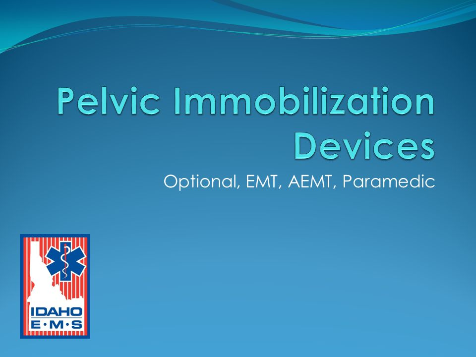 Emergency Stabilization of Pelvic Fractures