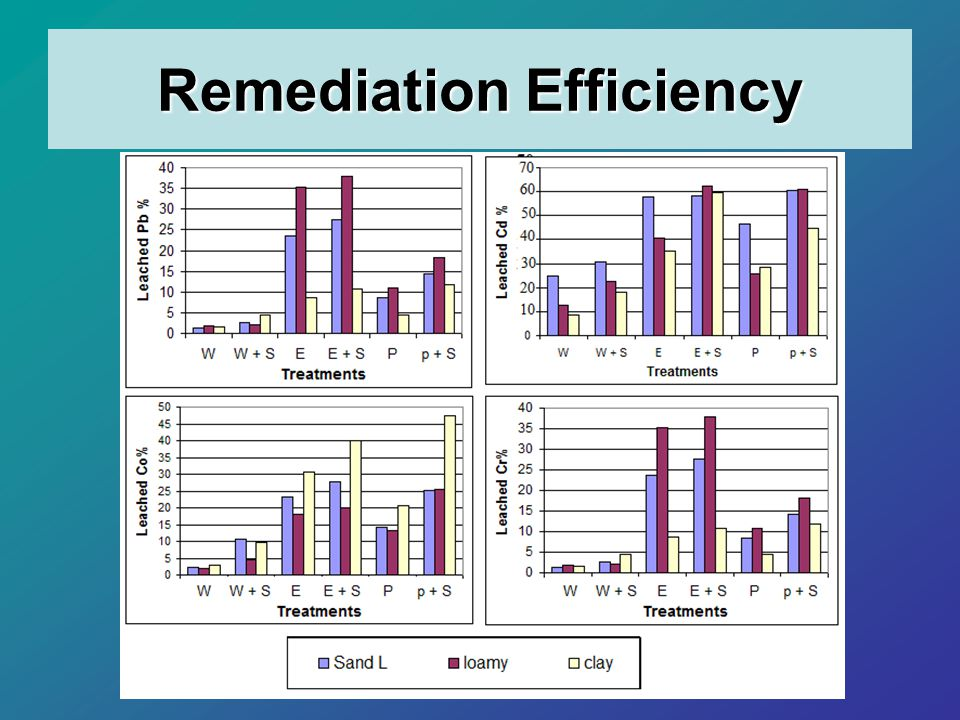 Remediation Efficiency
