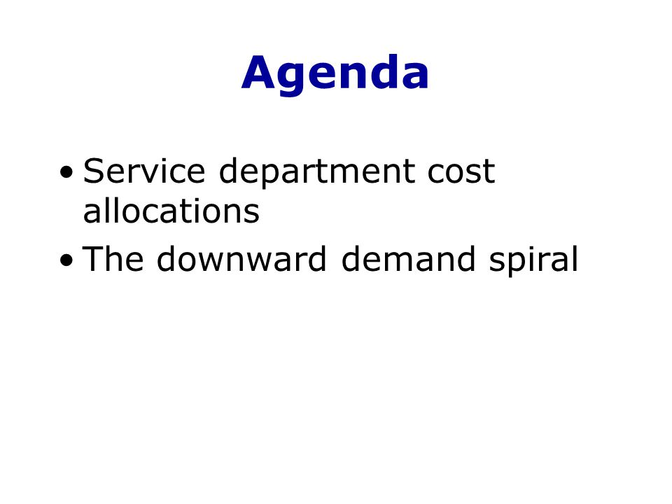 Example The budgeted rate for variable costs is $5 per hour.