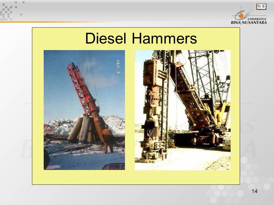 14 Diesel Hammers