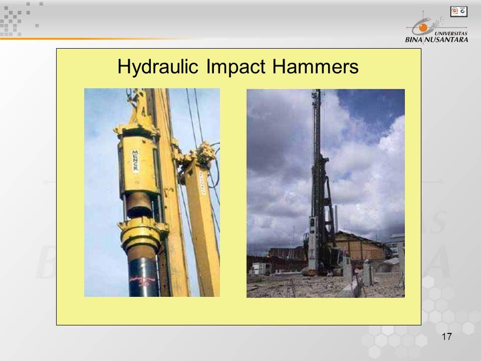 17 Hydraulic Impact Hammers