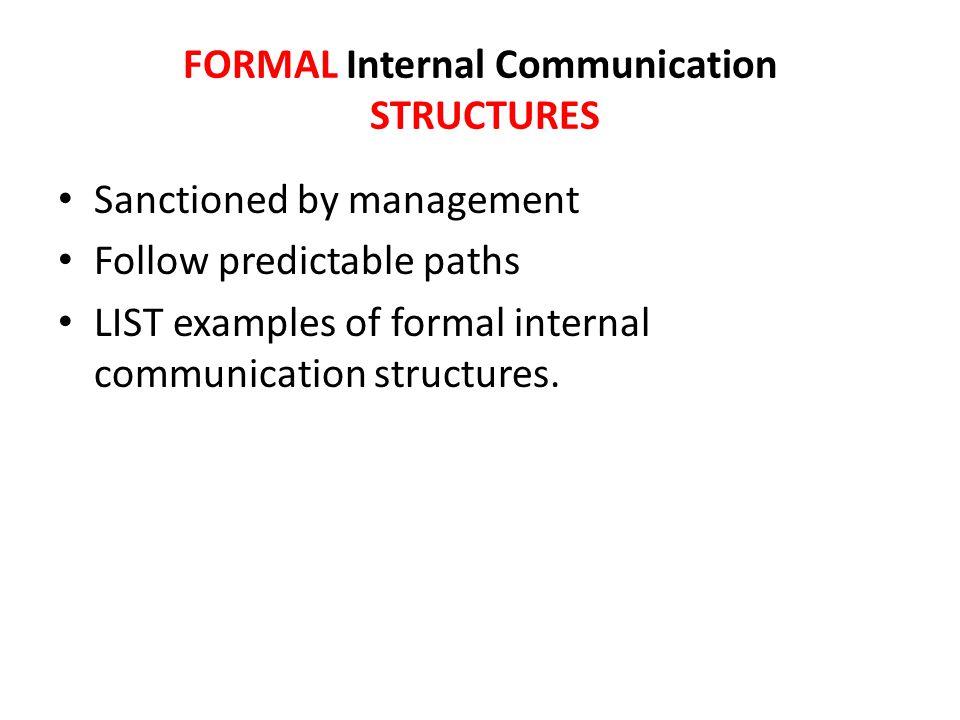 Diagonal communication STRENGTHSWEAKNESSES