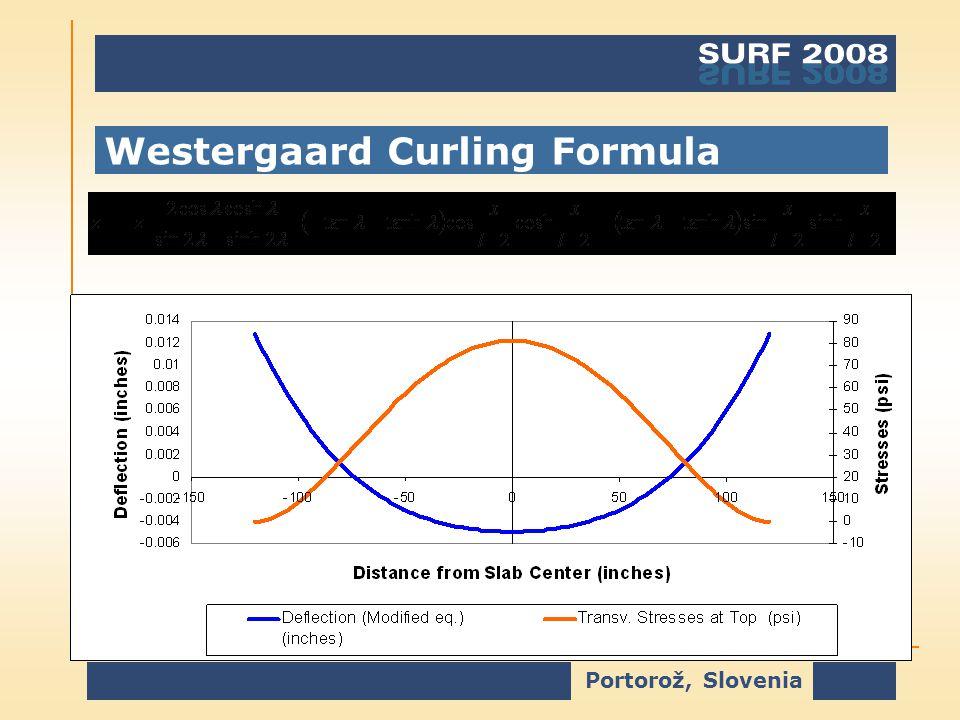 Portorož, Slovenia Westergaard Curling Formula