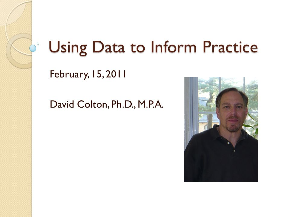 Addressing Data Collection (3) How is the data collected and does the process ensure for data trustworthiness.