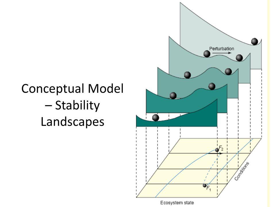 Conceptual Model – Stability Landscapes