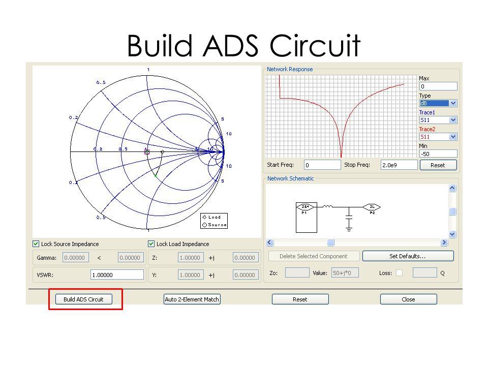 Build ADS Circuit
