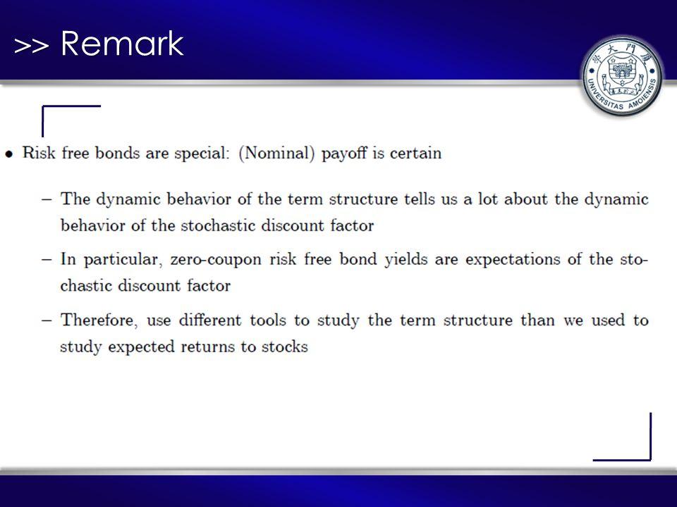 >> Remark