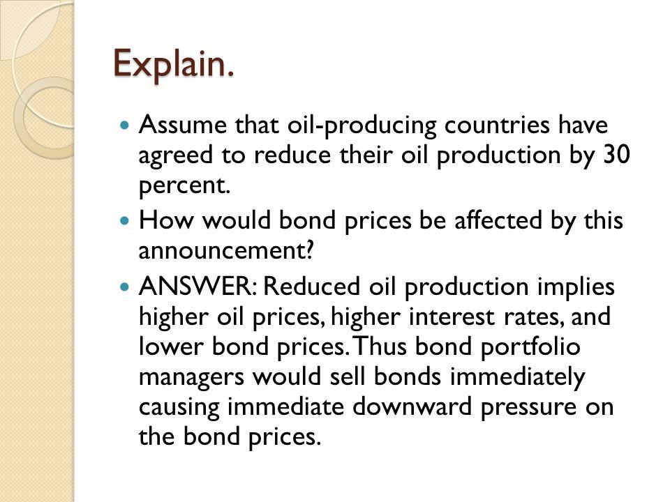 Bond Price Sensitivity.