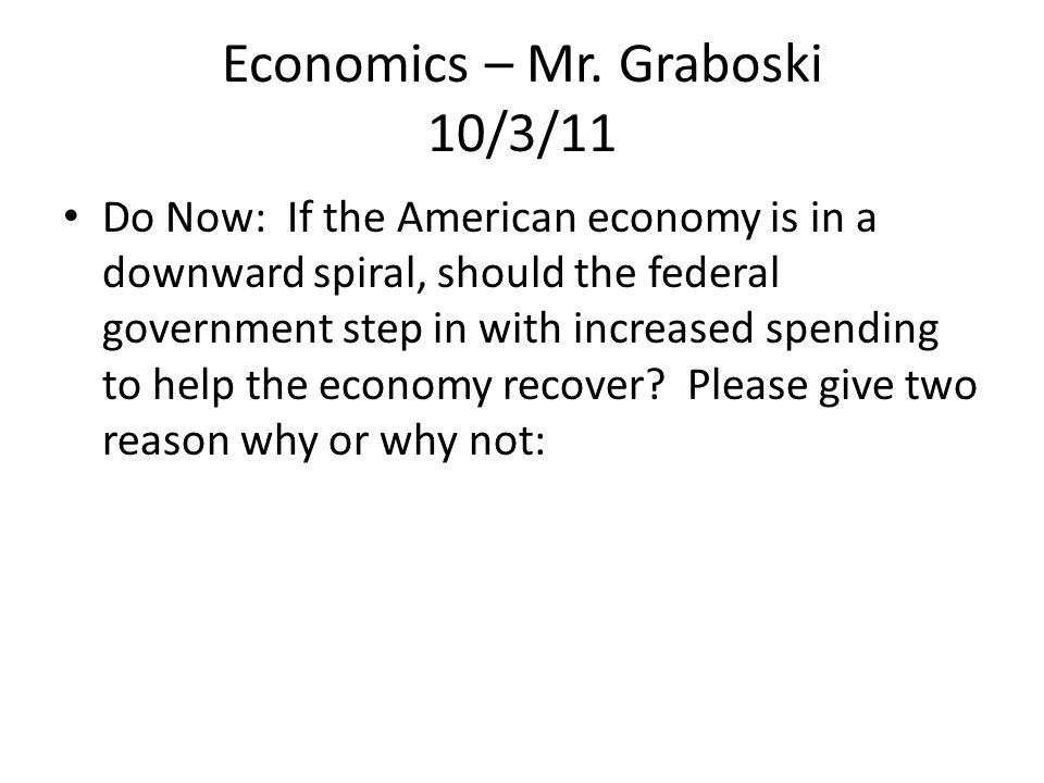 Economics – Mr.