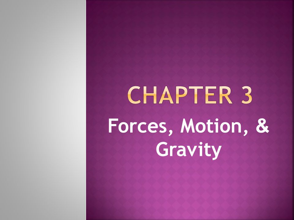  When forces on an object are unbalanced motion occurs.
