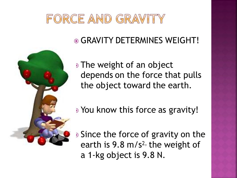1.Give two examples of force.