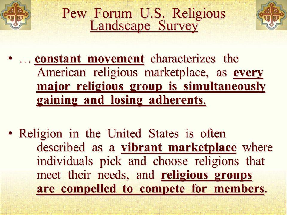 Pew Forum U.S.