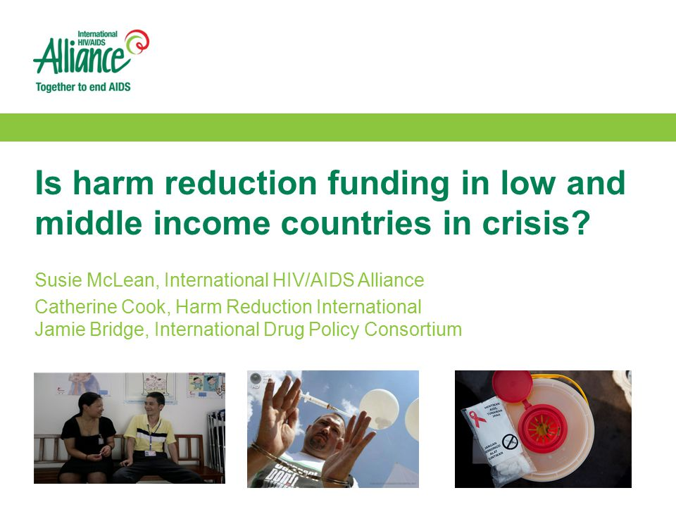 Is harm reduction funding in low and middle income countries in crisis.