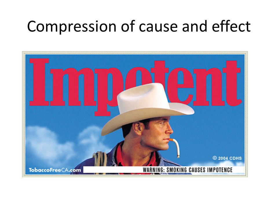 Compression of cause and effect