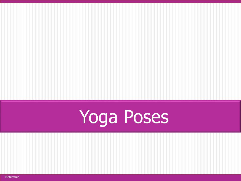 Yoga Poses Reference