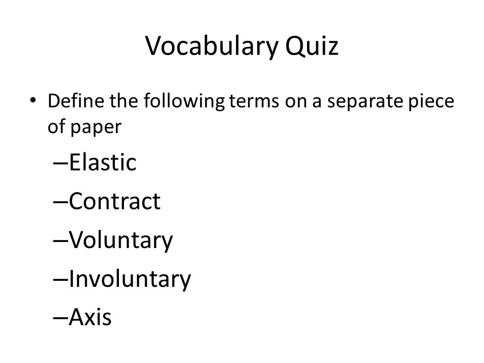 Paper terms