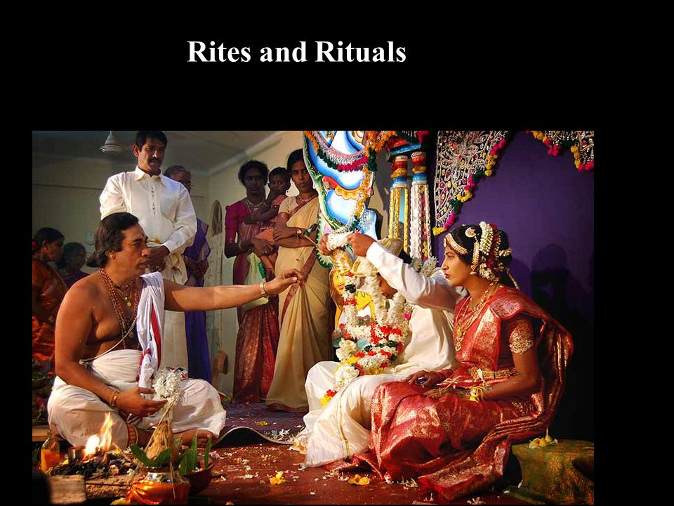 Rites and Rituals