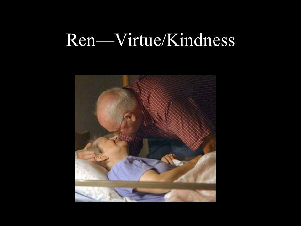 Ren—Virtue/Kindness