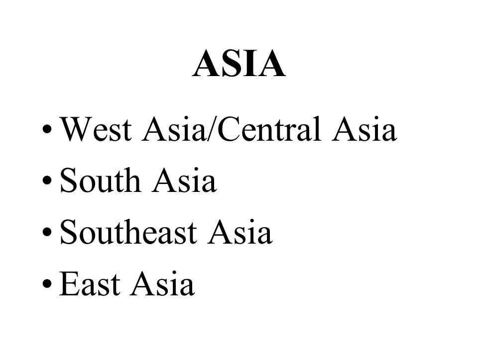 West Asia