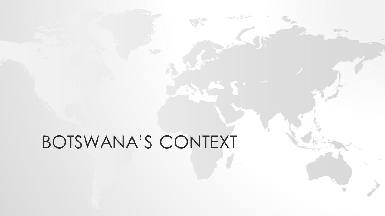 BOTSWANA'S CONTEXT