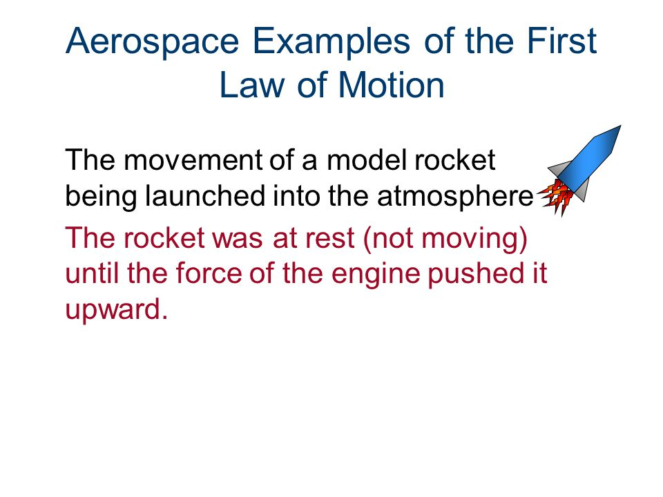 Second Law of Motion The acceleration of an object depends on: –The size of the force on the object –The direction of the force on the object –The mass of the object The relationship: F = m * a Force = mass * acceleration Or a=F/m acceleration = Force/mass
