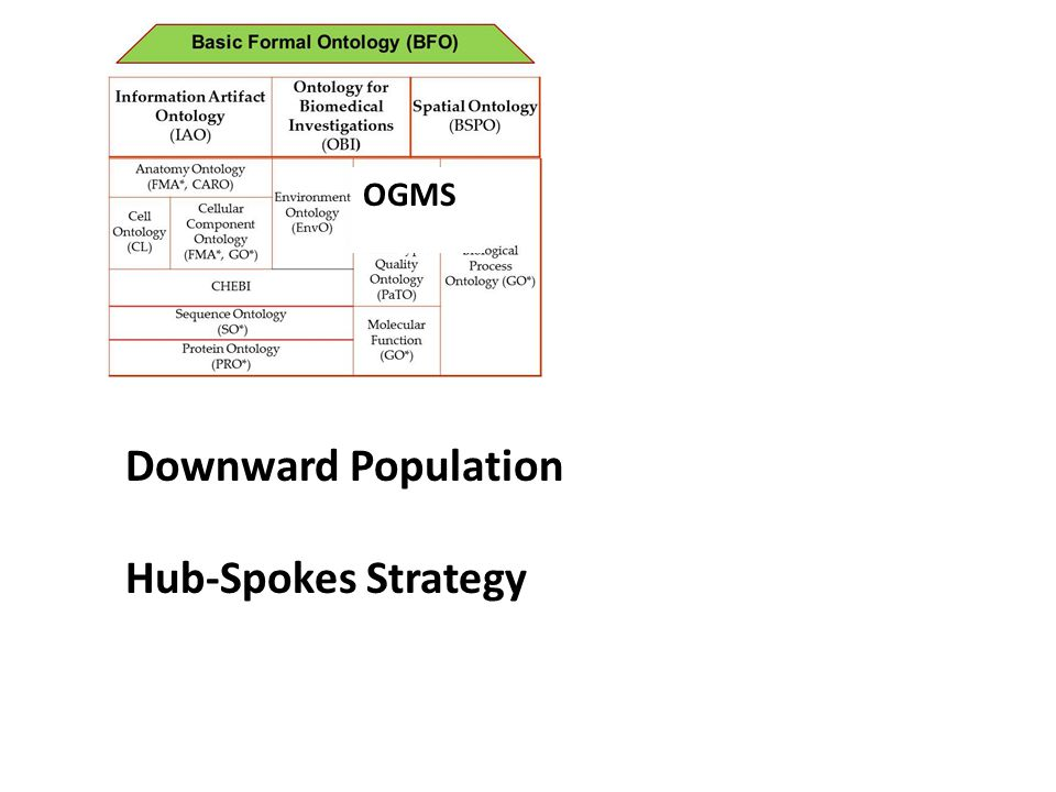 OGMS Downward Population Hub-Spokes Strategy