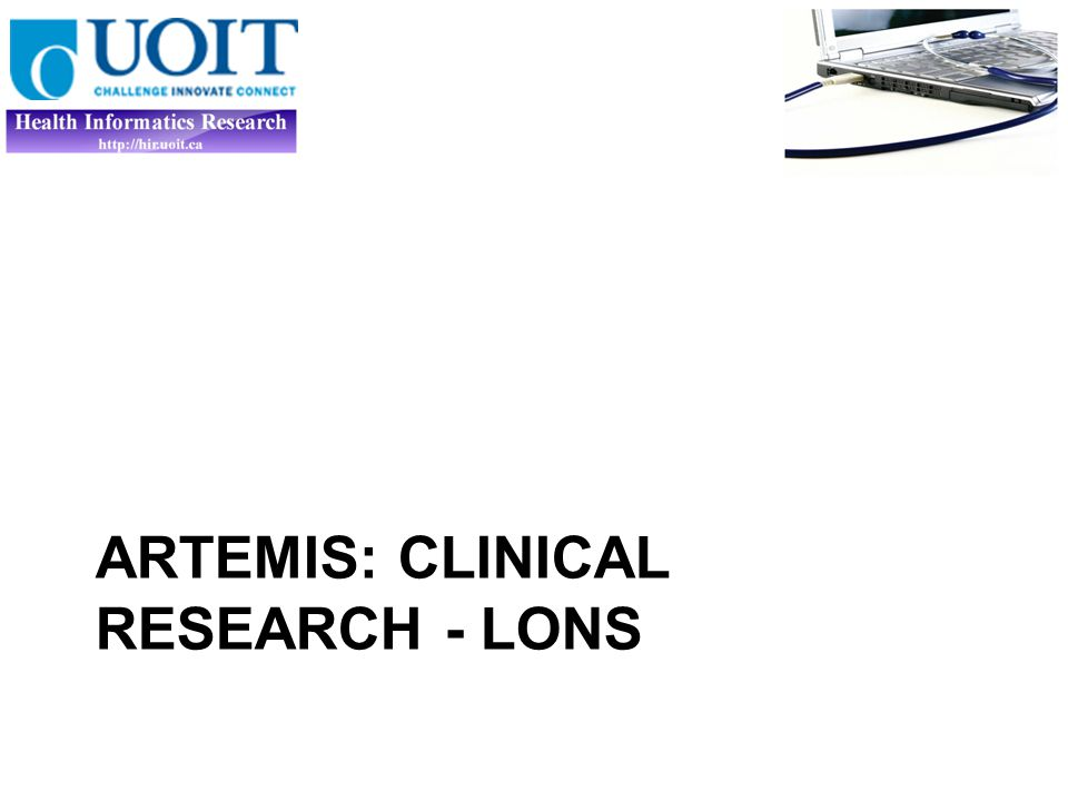 ARTEMIS: CLINICAL RESEARCH - LONS