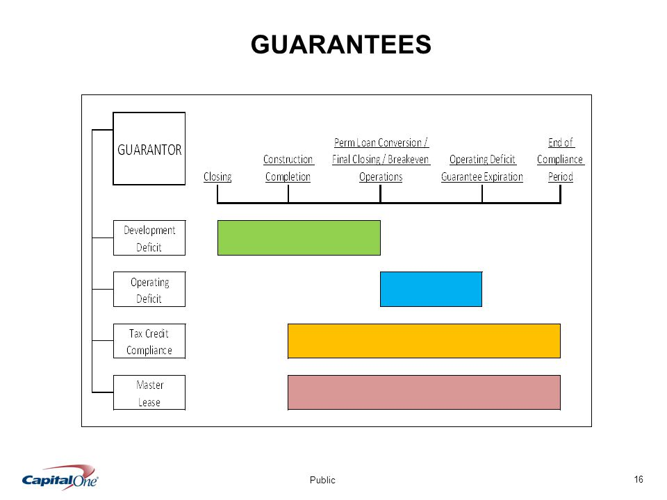 16 Public GUARANTEES
