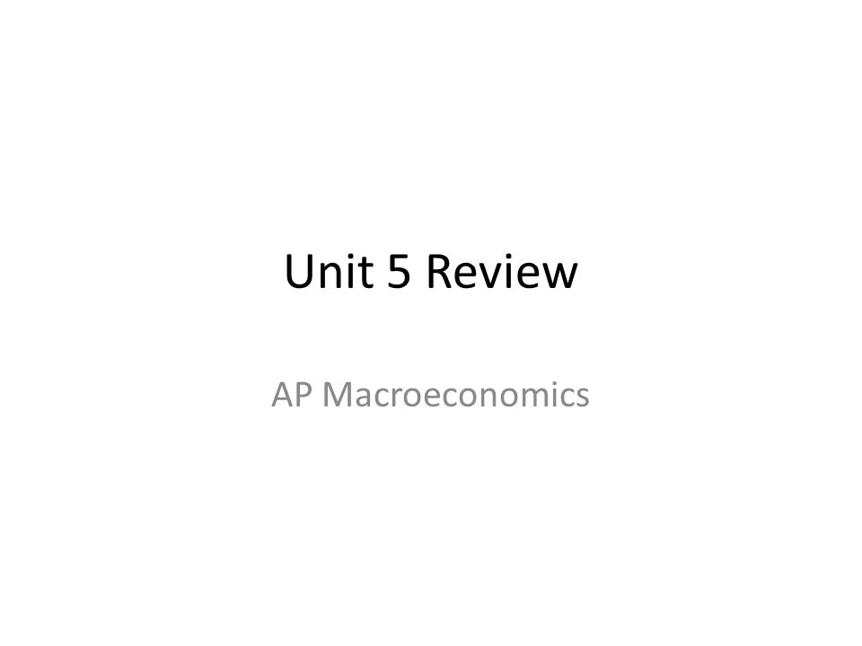 1.1.The modern tools of macroeconomic policy are: Monetary and Fiscal Policy
