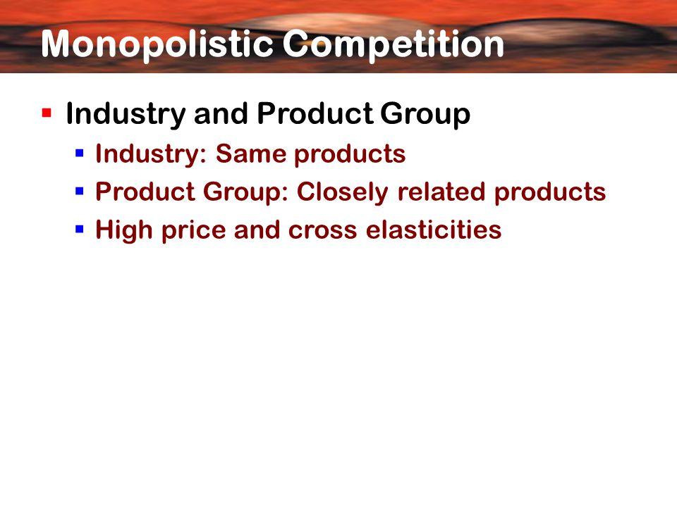 Long run equilibrium of the firm perfect and monopolistic competition Rs Q O P2P2 P1P1 LRAC D L under perfect competition D L under monopolistic competition Q2Q2 Q1Q1