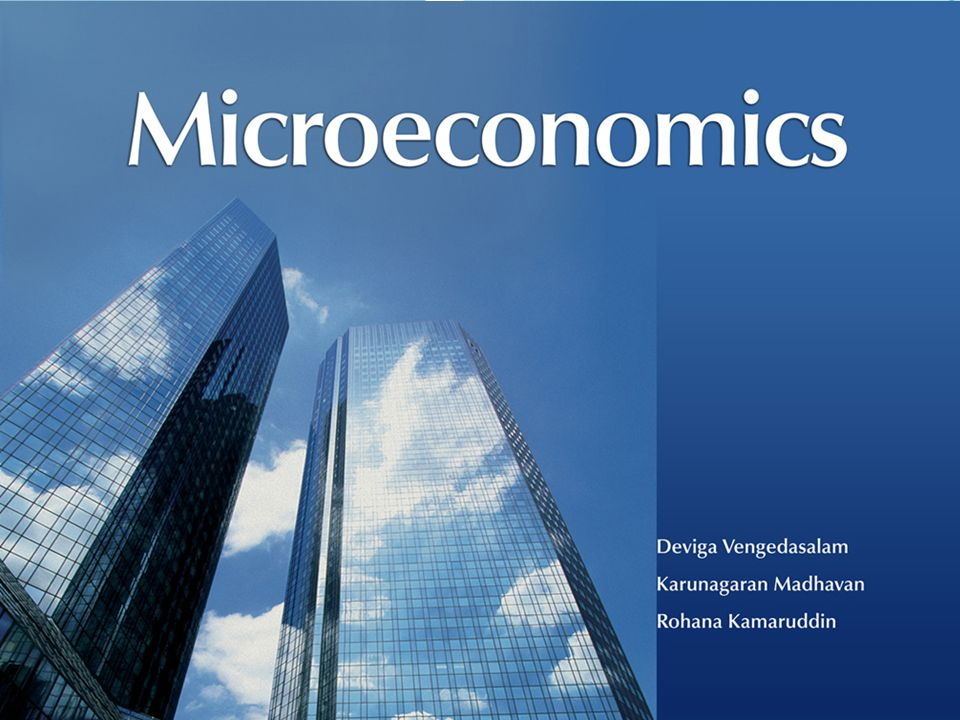 All Rights ReservedMicroeconomics © Oxford University Press Malaysia, 2008 8– 1