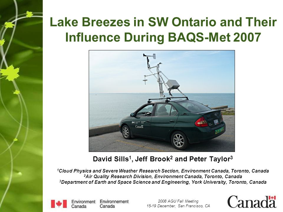 Lake breezes 1000 2000 Height (m) 0 040 Distance (km) Lake Breeze Inflow Updrafts Weak Subsidence Weak Subsidence Return Flow Assume midday heating over land between two lakes
