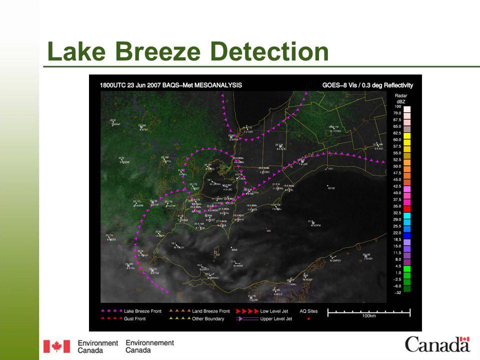 Lake Breeze Detection