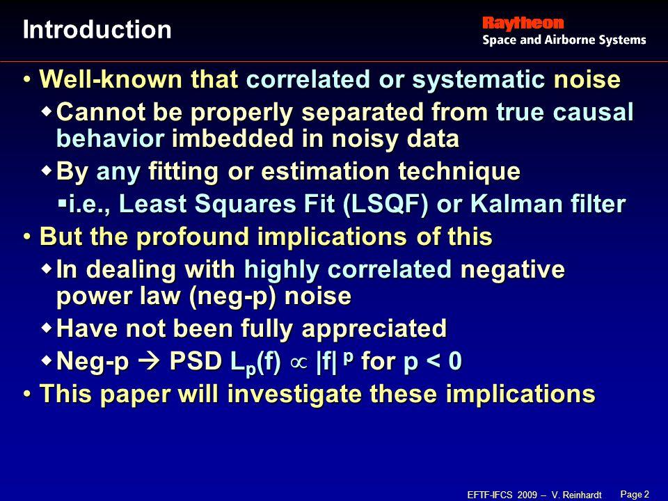 Page 13 EFTF-IFCS 2009 -- V.