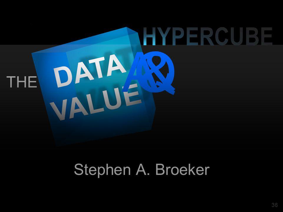 36 THE Q&A Stephen A. Broeker