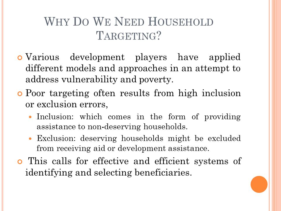 H OUSEHOLD V ULNERABILITY I NDEX (HVI) Developed by FANRPAN to identify Vulnerable Households exposure to shocks affecting their livelihoods.