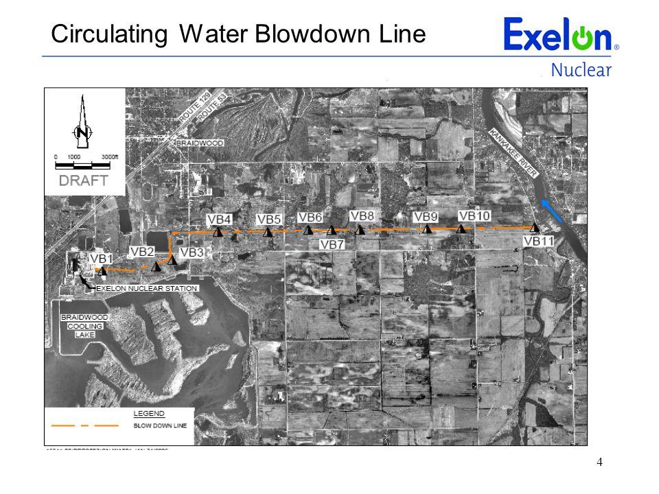 4 Circulating Water Blowdown Line