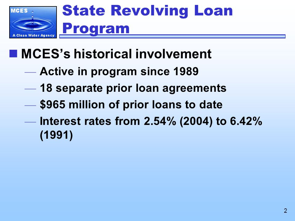 3 Revolving Loan Program Loan agreements issued to date ($s in millions)