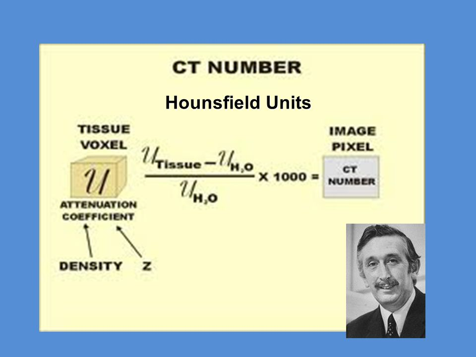 Hounsfield Units