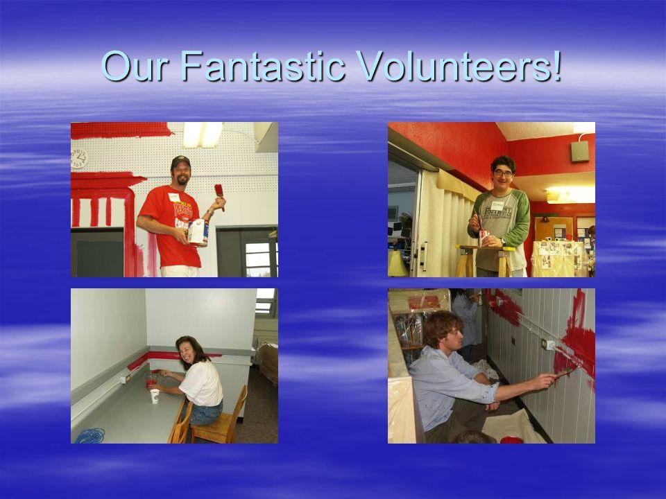 Our Fantastic Volunteers!