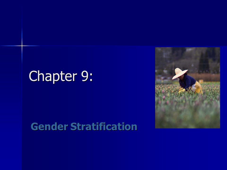 Chapter 9: Gender Stratification
