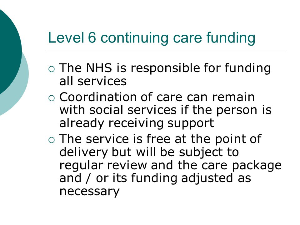 Audit aims  To see how appropriately, in terms of survival, we discharge patients to nursing homes  To find out how appropriately we apply for Level 6 Continuing Care Funding (CCF)