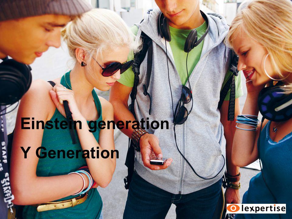 Einstein generation Y Generation