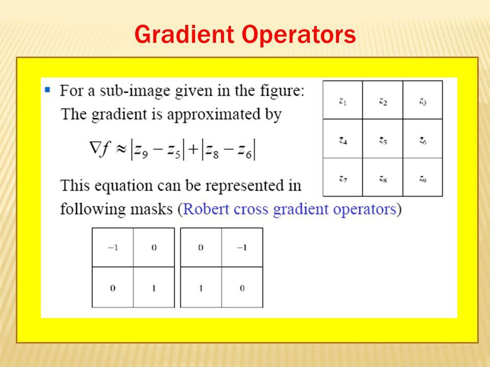 Gradient Operators