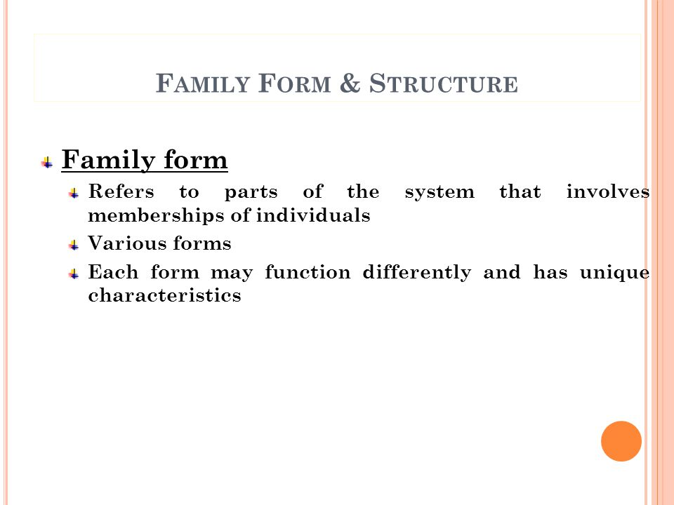 H UMAN D EVELOPMENT Family is the most critical system for human development (other systems are also important) Human development occurs through-out life cycle Can be influenced by & may influence the environment / other systems