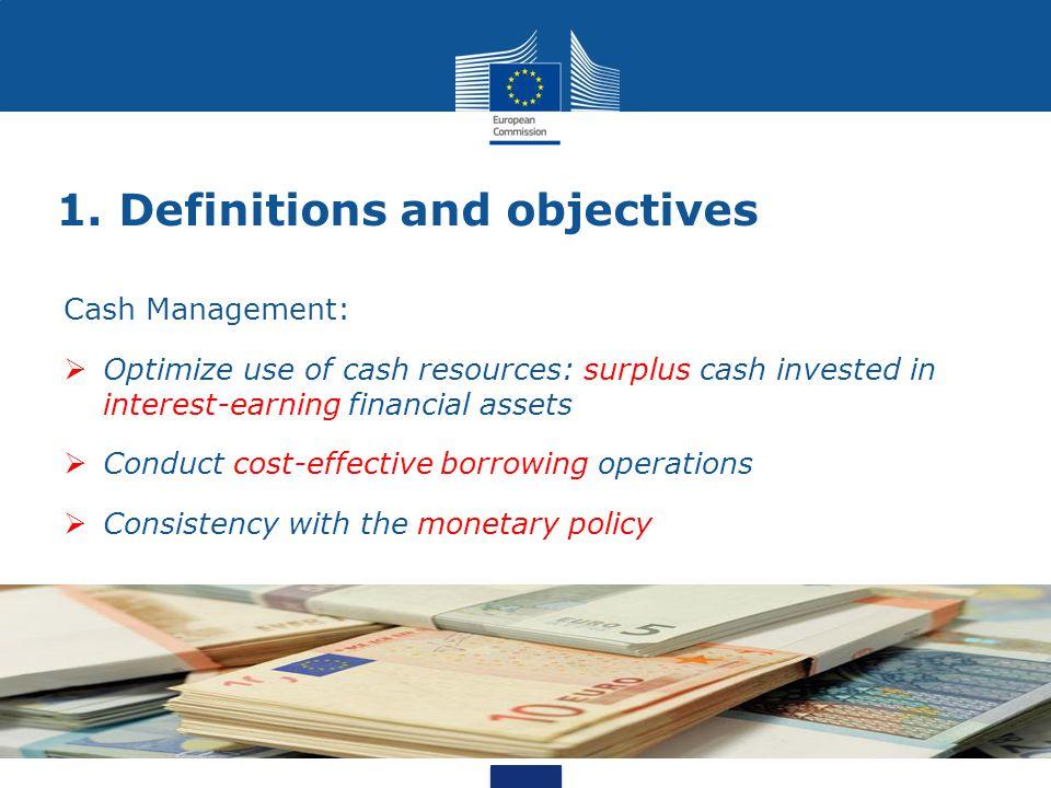 4. Cash flow forecasting Cash Management Unit Cash Management Unit Warrant